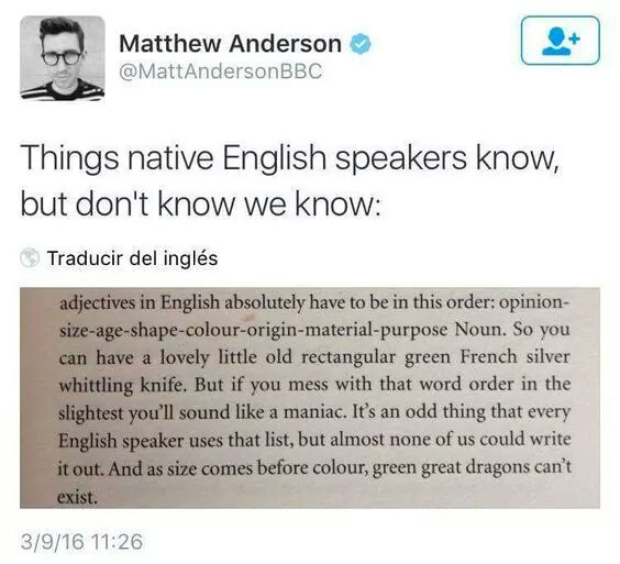 As a native English speaker, I've never thought about this, but it's totally true_