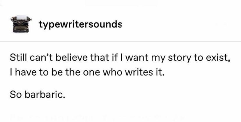 Writing meme